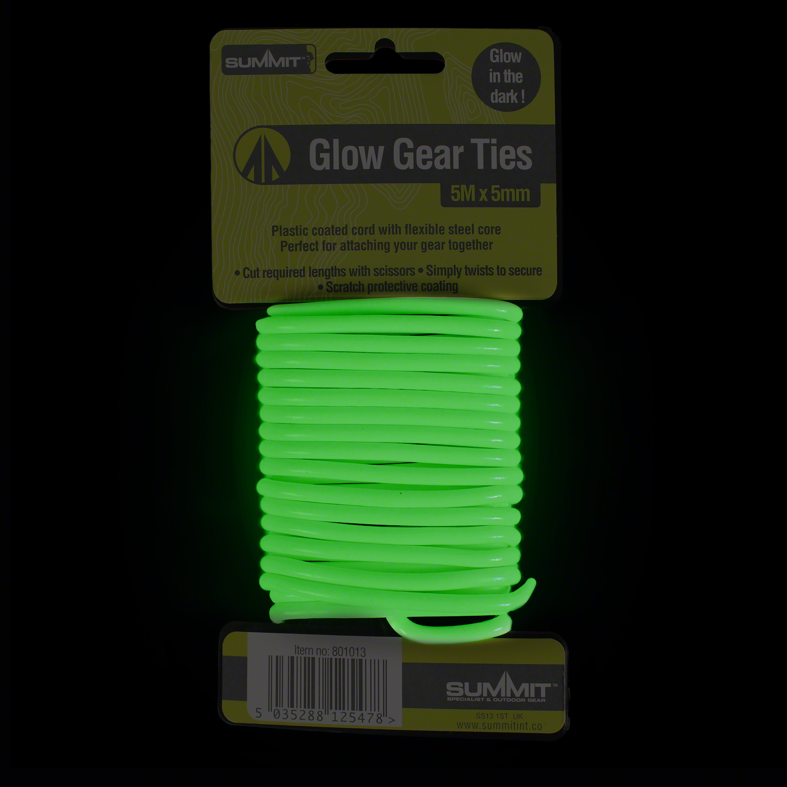 Click to view product details and reviews for 5m Glow Gear Tie.
