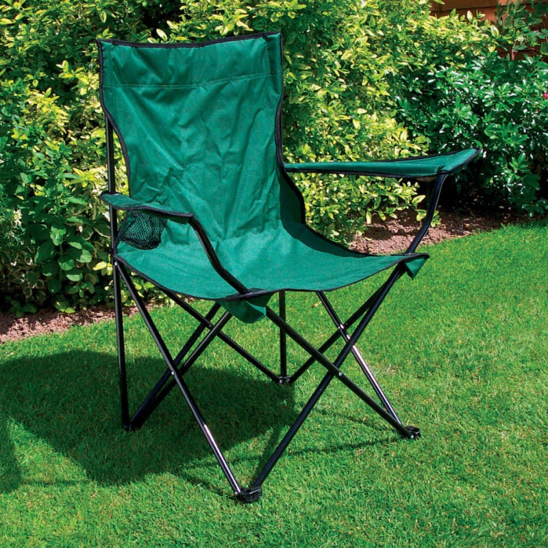 Click to view product details and reviews for 6 X Folding Camping Chairs With Cup Holders.