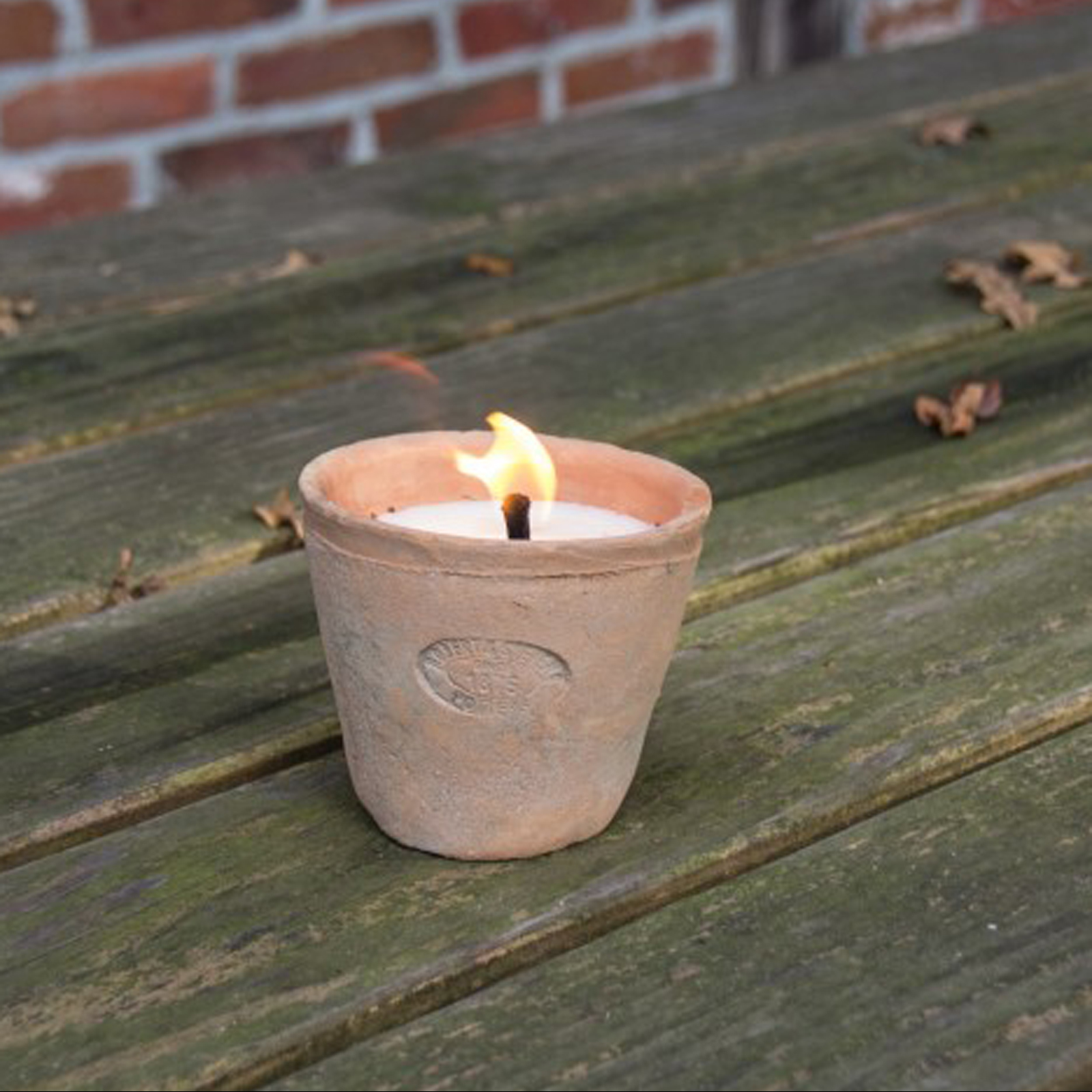 Click to view product details and reviews for Aged Terracotta Candle.