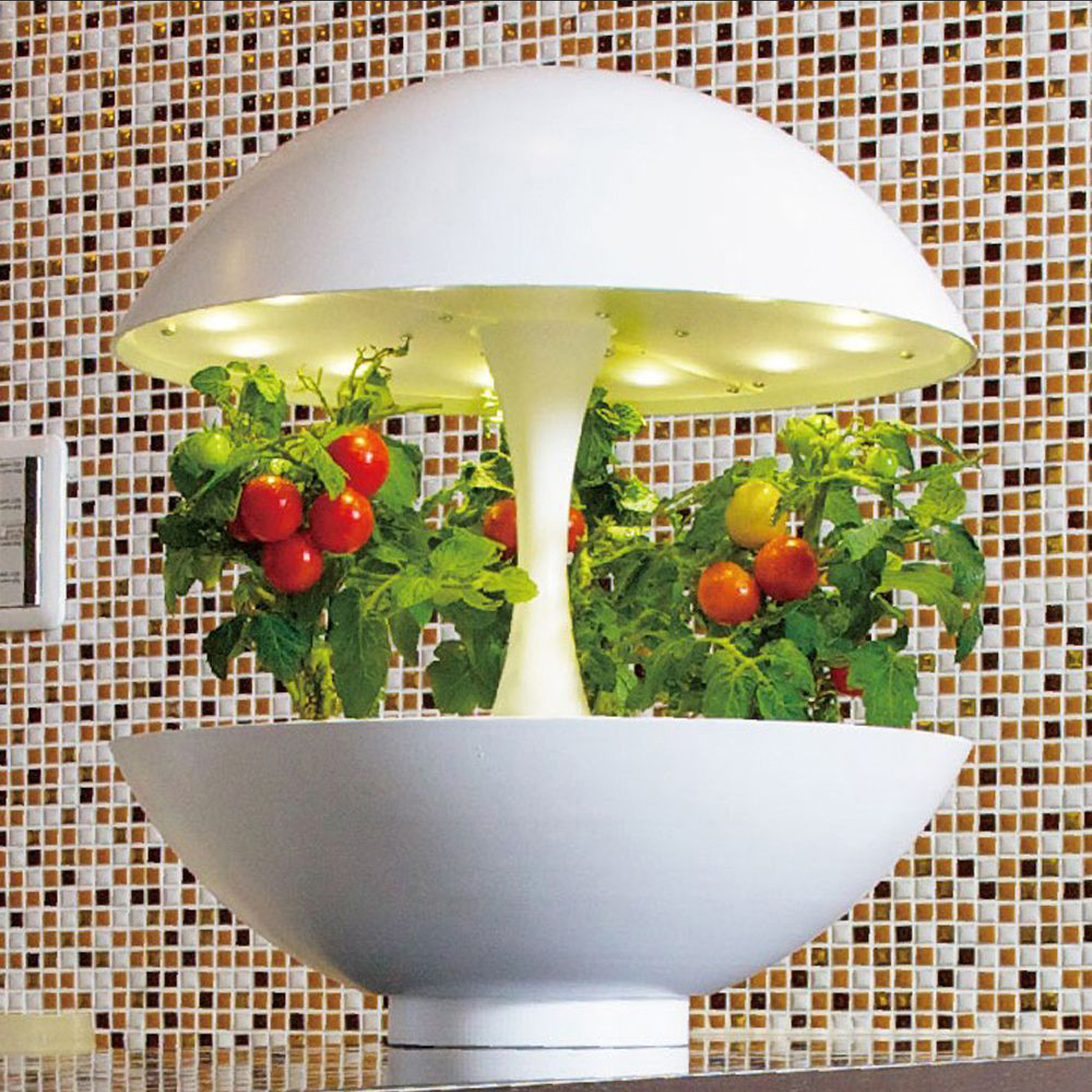Click to view product details and reviews for Akarina 01 Hydroponic Round Lamp.