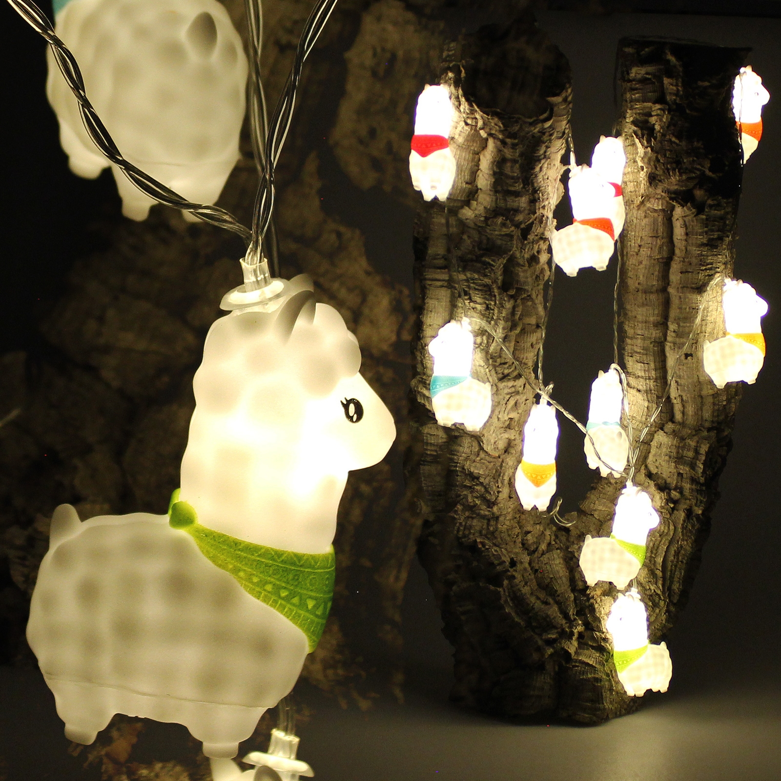 Click to view product details and reviews for Alpaca String Lights.