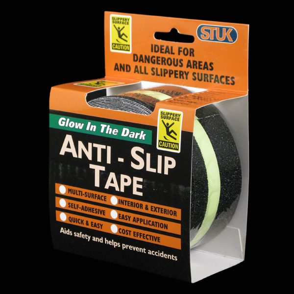 Anti Slip Glow In The Dark Strip Tape