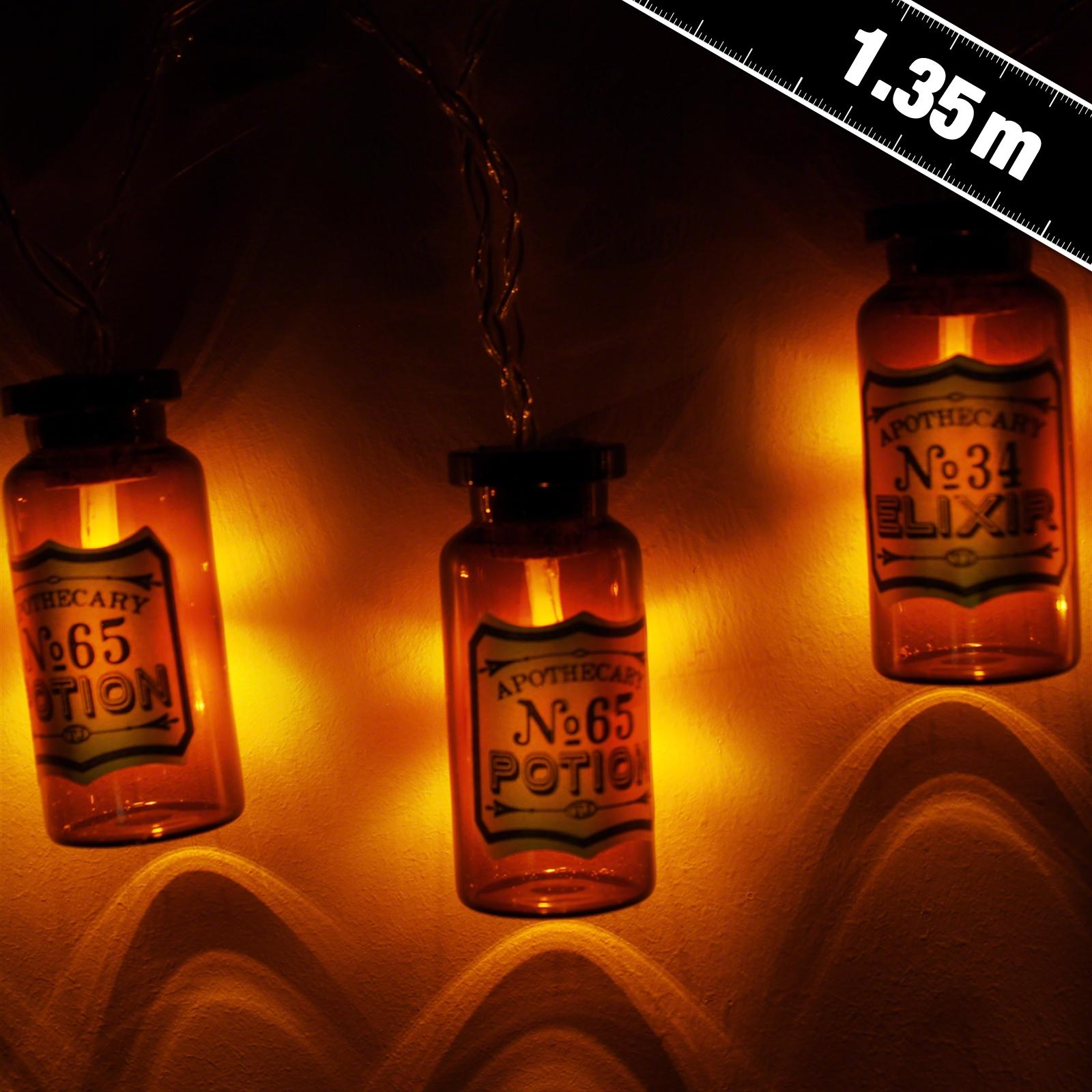 Apothecary Medicine Bottle Stringlights