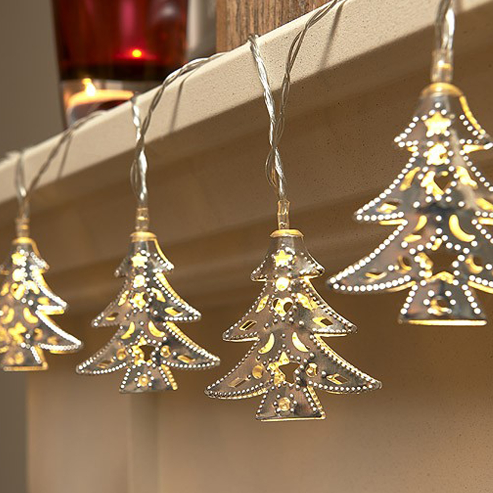 Click to view product details and reviews for Auraglow Christmas Tree Fairy Lights.