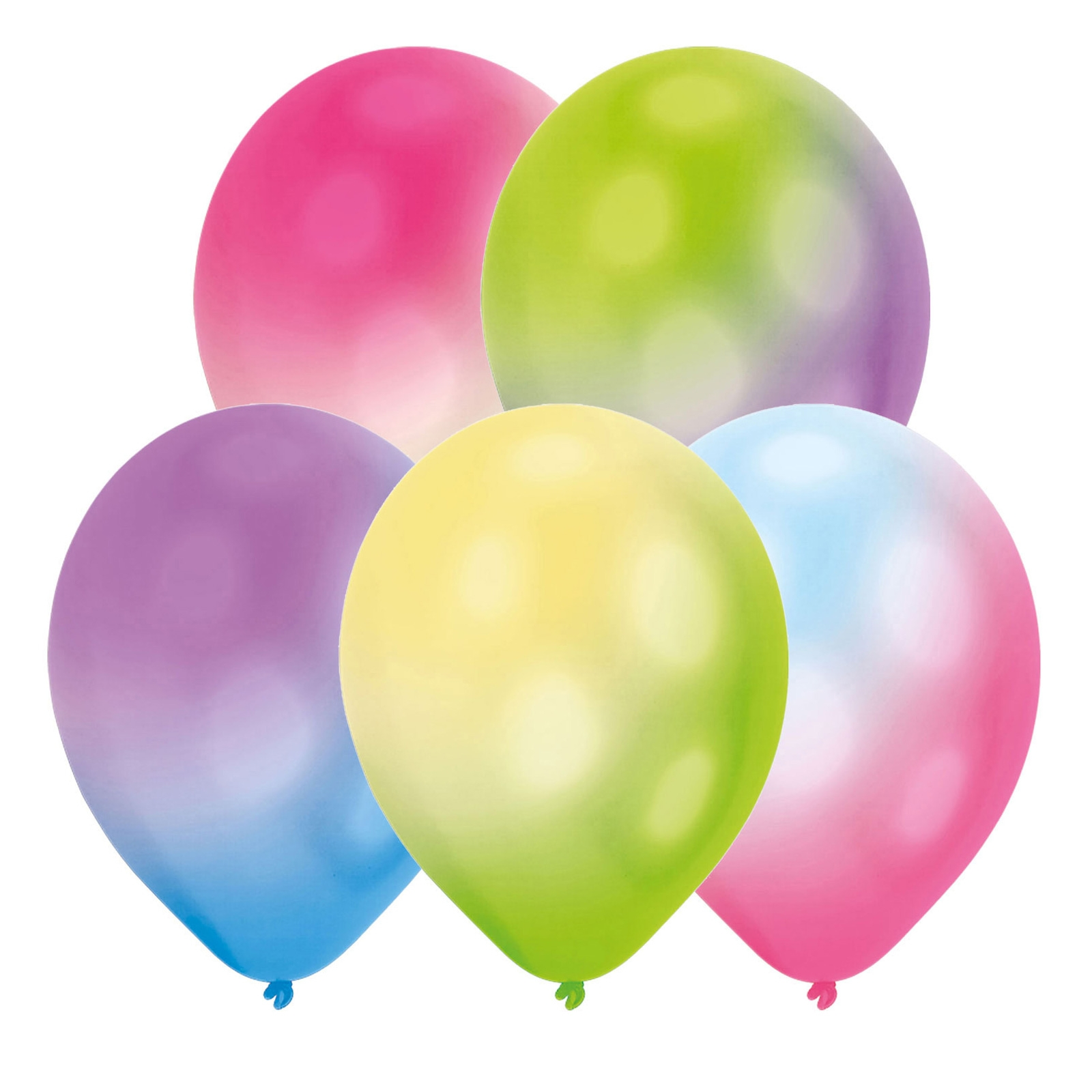 Click to view product details and reviews for Led Latex Colour Change Balloons X 5.