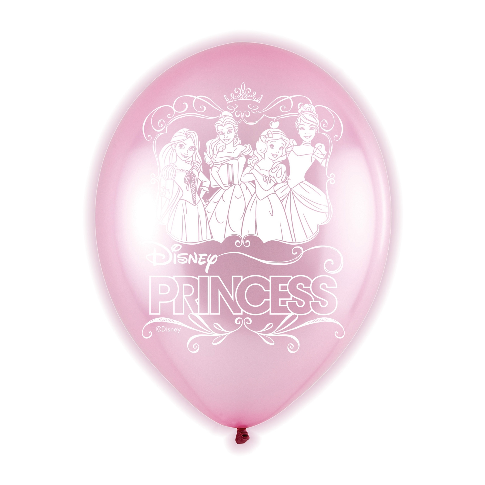 Disney Princess Light Up Balloons 5 Pack