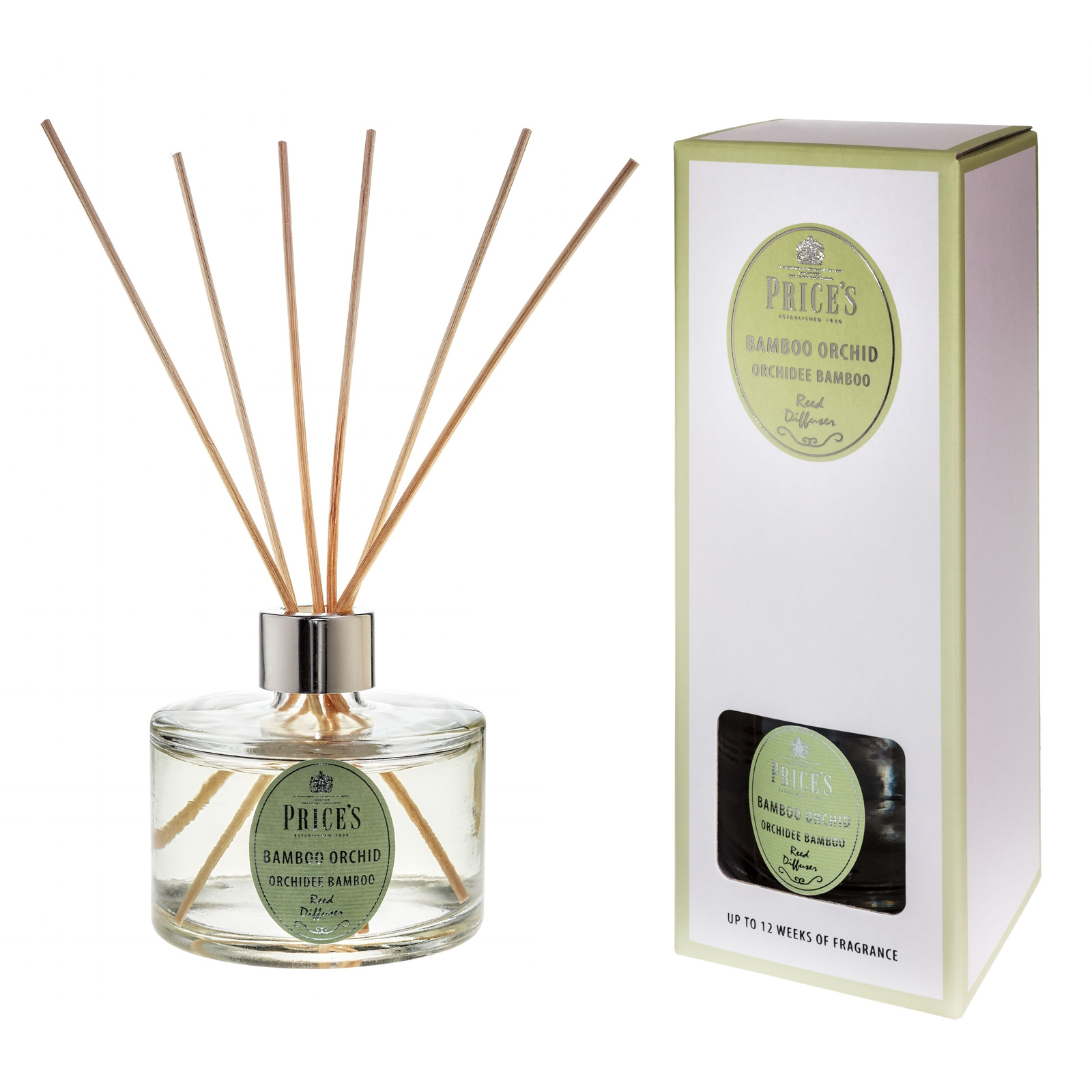 Bamboo Orchid Prices Signature 250ml Reed Diffuser