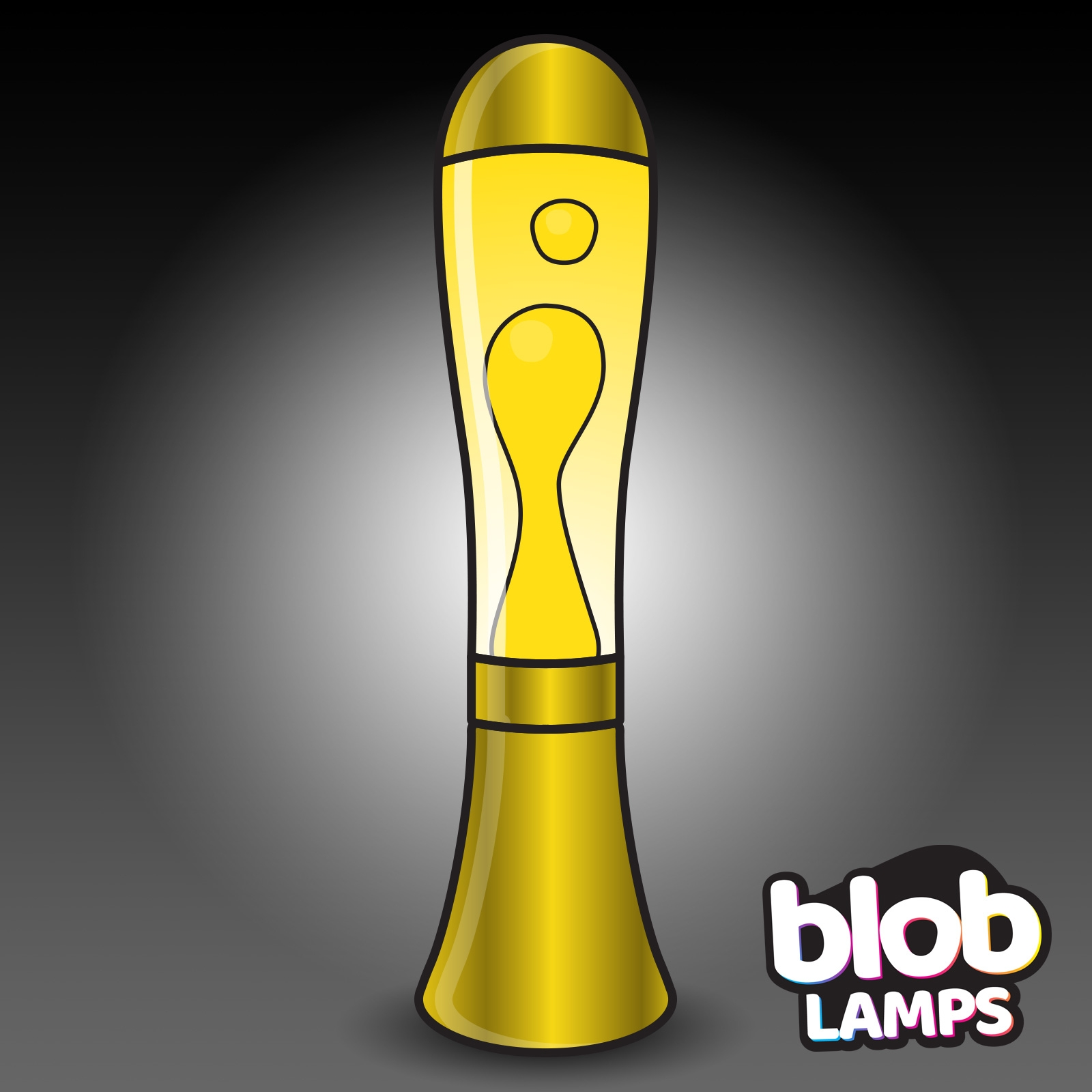 Click to view product details and reviews for Big Blob Metallic Gold Lava Lamp White Yellow.