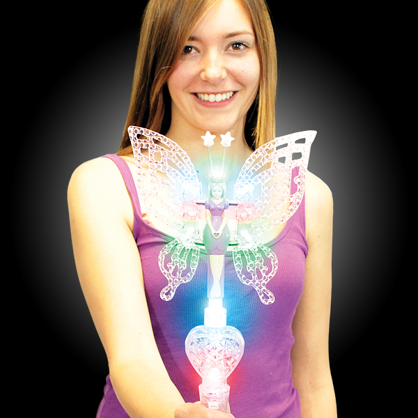 Click to view product details and reviews for Flashing Fairy Wand Wholesale.