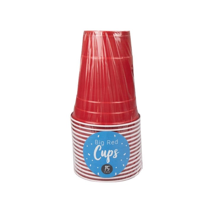 Click to view product details and reviews for Big Red 18oz Party Cups X 15.