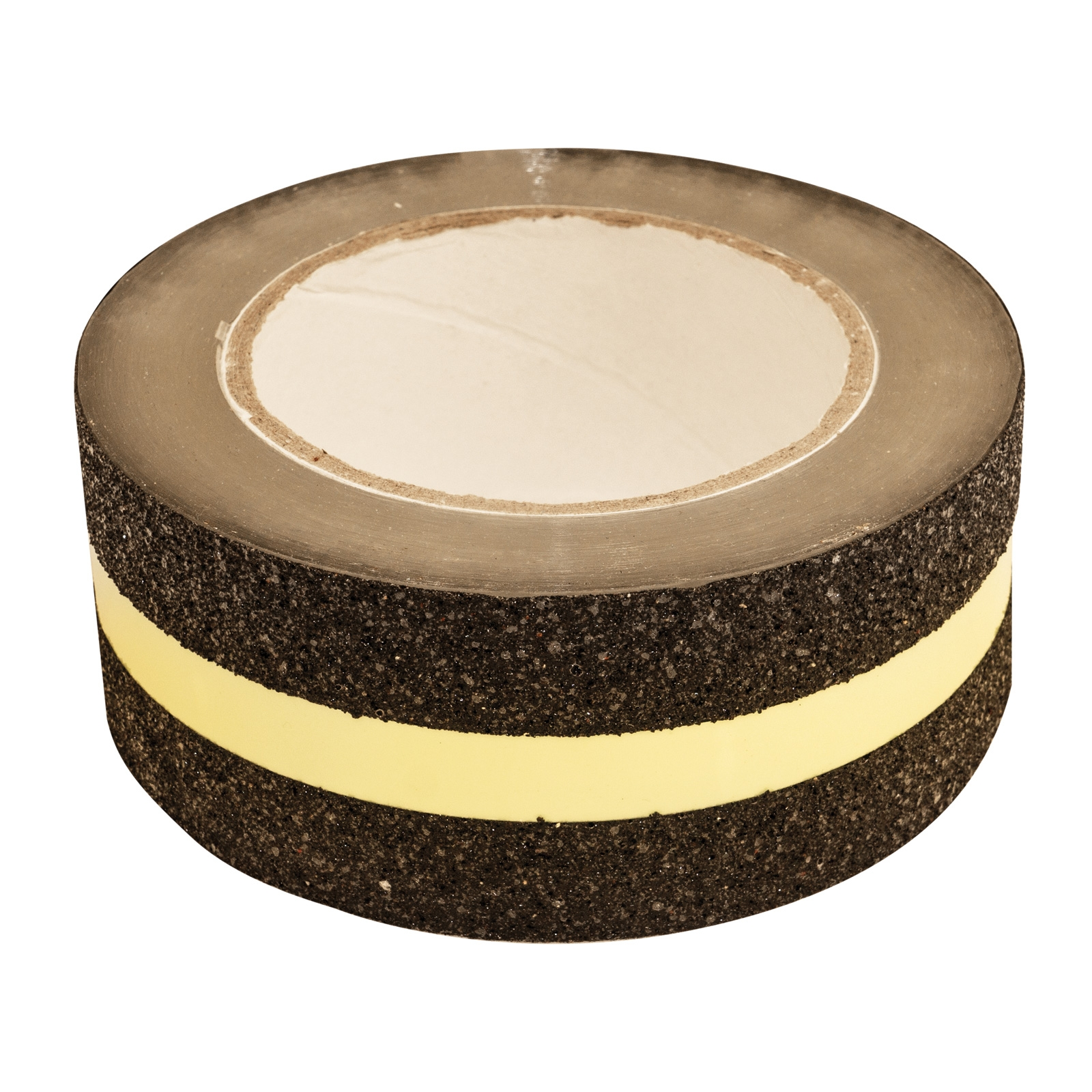 Click to view product details and reviews for Black Safety Tape With Glow In The Dark Strip 5cm X 5m Length.