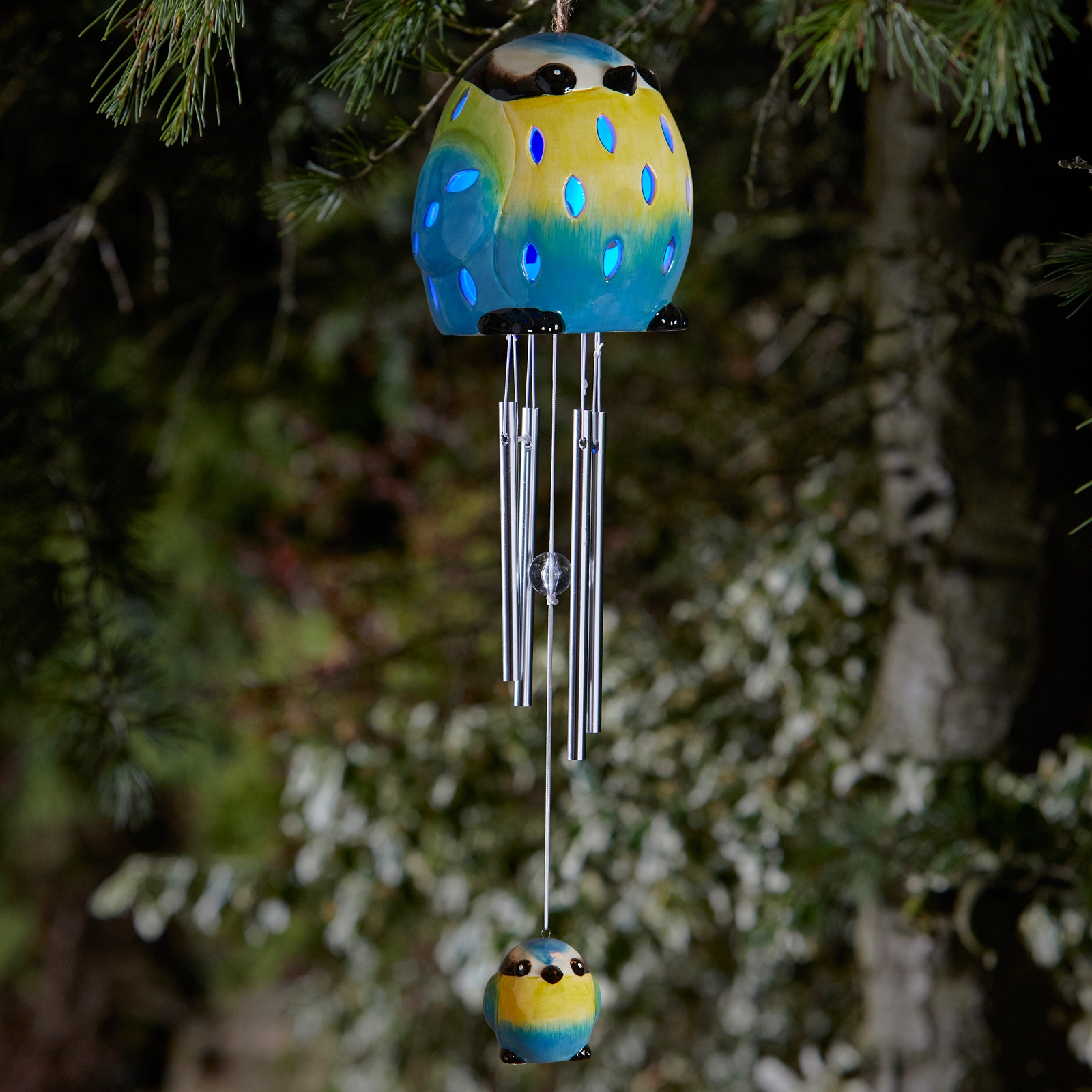 Click to view product details and reviews for Blue Tit Wind Chime.