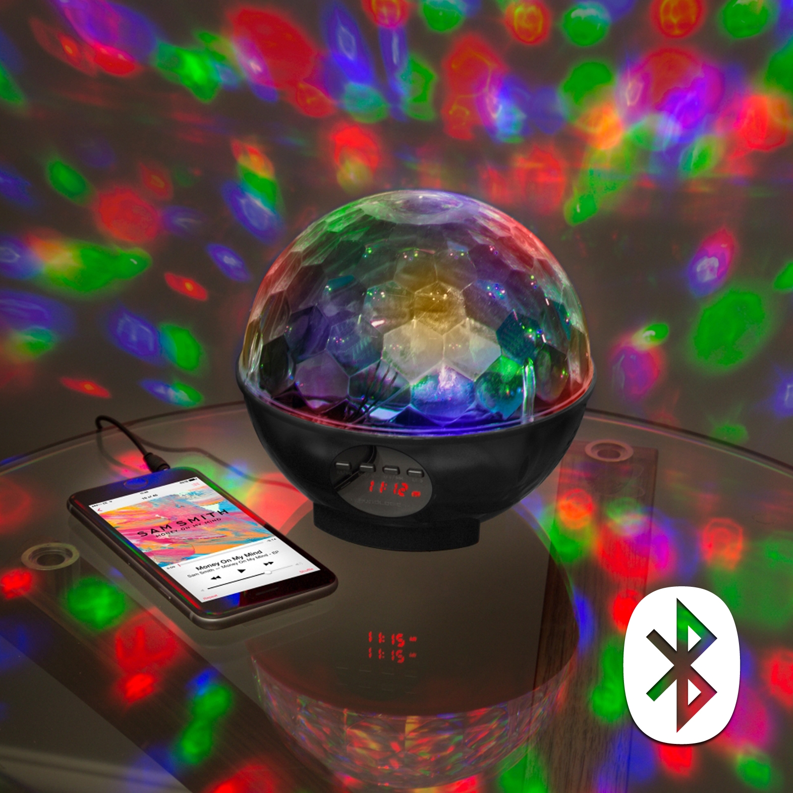Click to view product details and reviews for Disco Party Bluetooth Speaker And Radio Light.