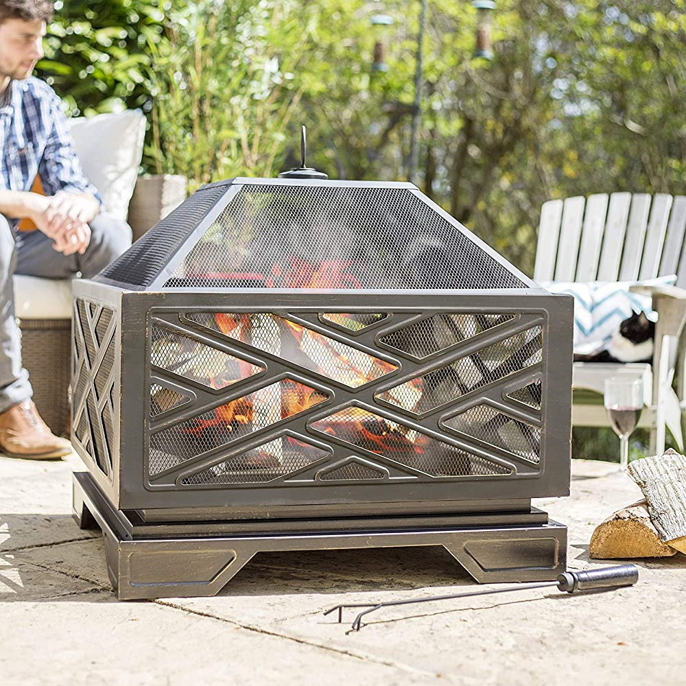 Click to view product details and reviews for Brooklyn Steel Fire Pit.