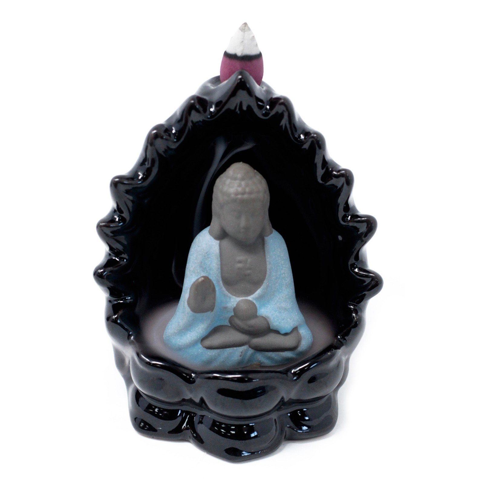 Click to view product details and reviews for Buddha Backflow Incense Burner.