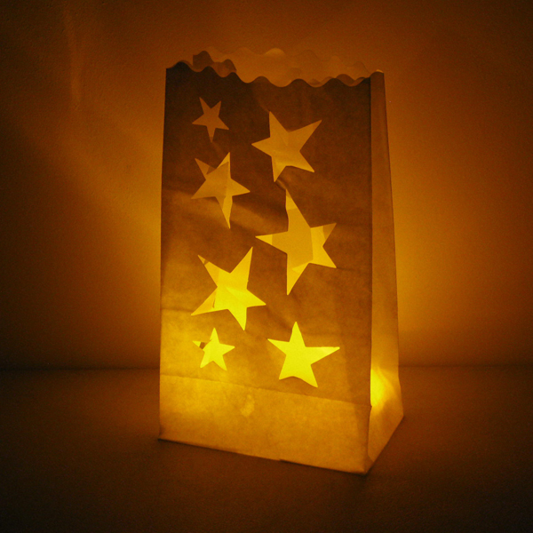 Candle Bags Star 3 Pack