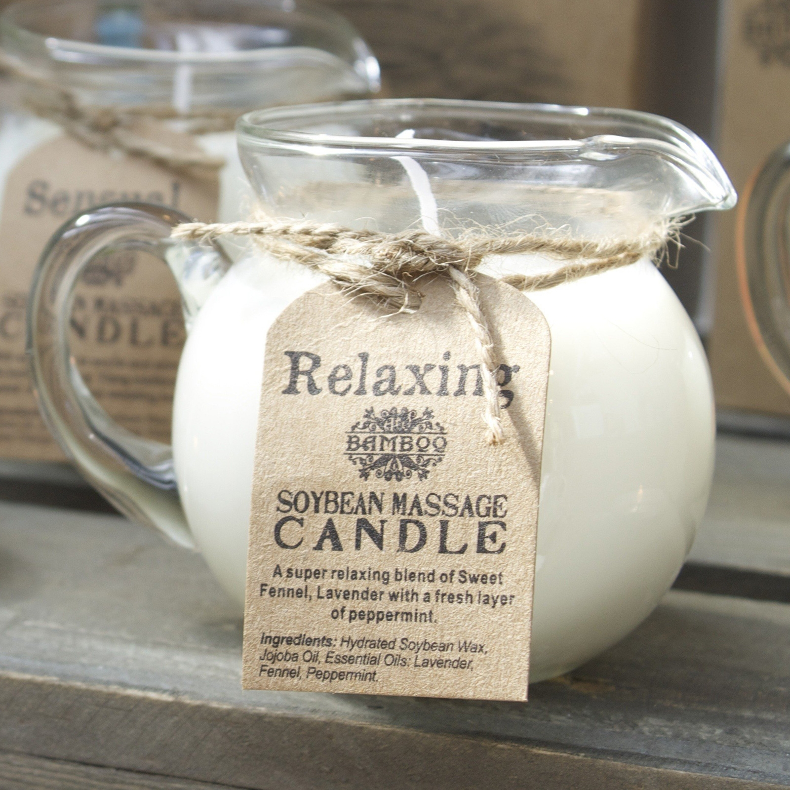 Click to view product details and reviews for Soybean Massage Candles.