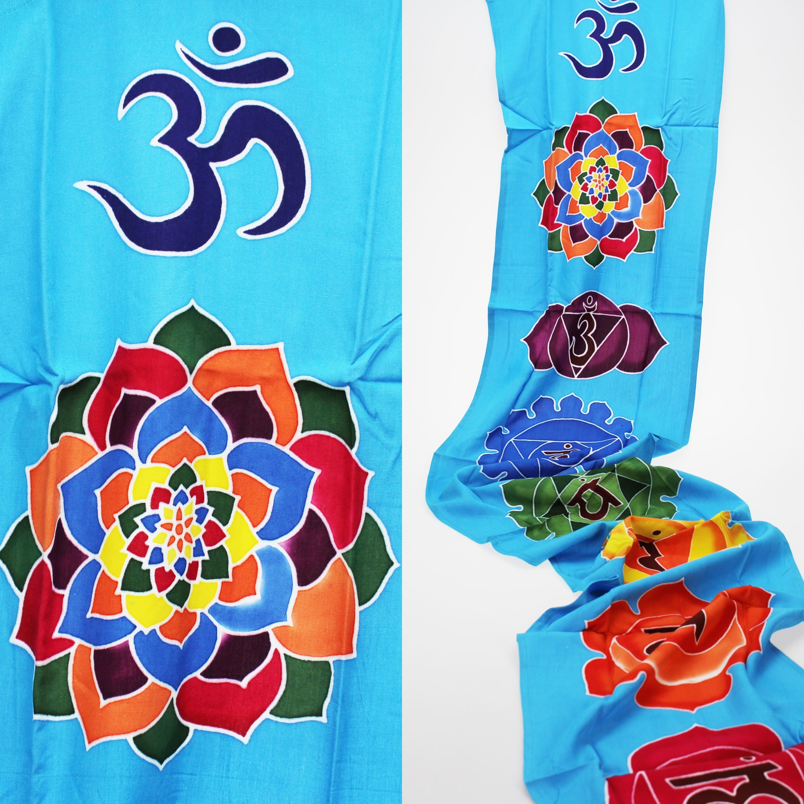 Click to view product details and reviews for Blue Chakra Drop Banner.