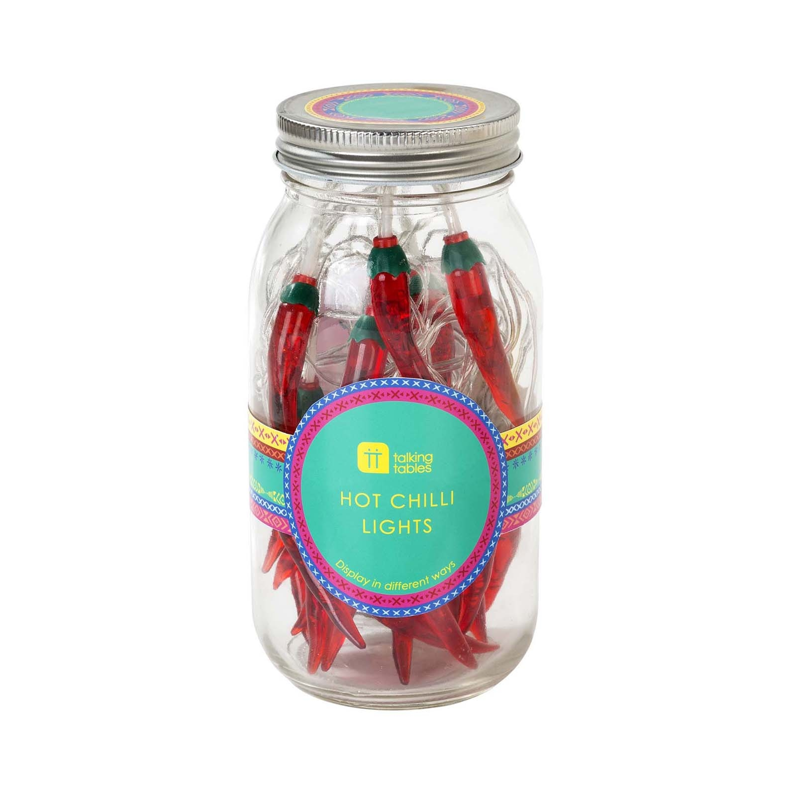 Click to view product details and reviews for Jar Of Hot Chilli Fairy Lights.