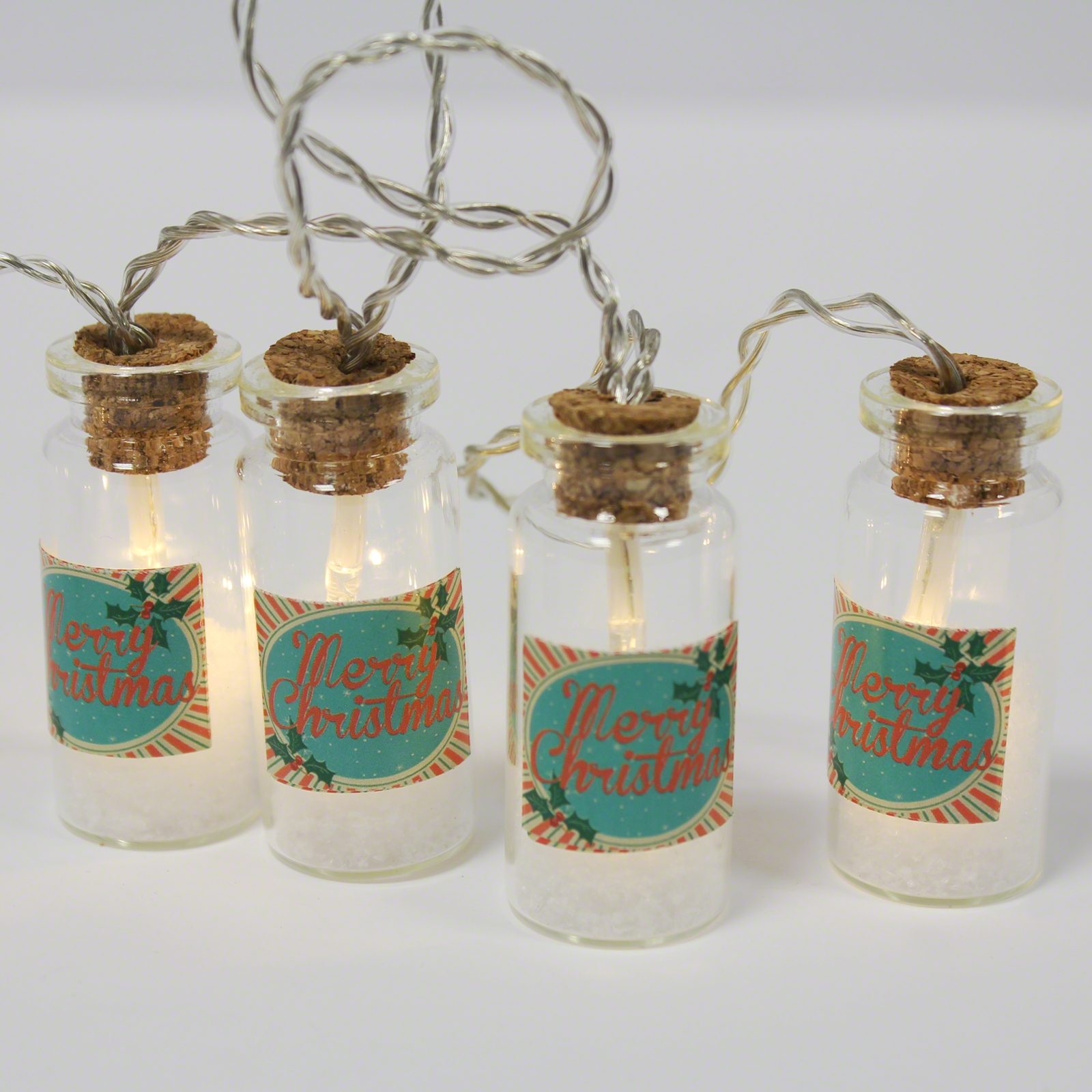Click to view product details and reviews for Christmas Mini Jar Fairy Lights.