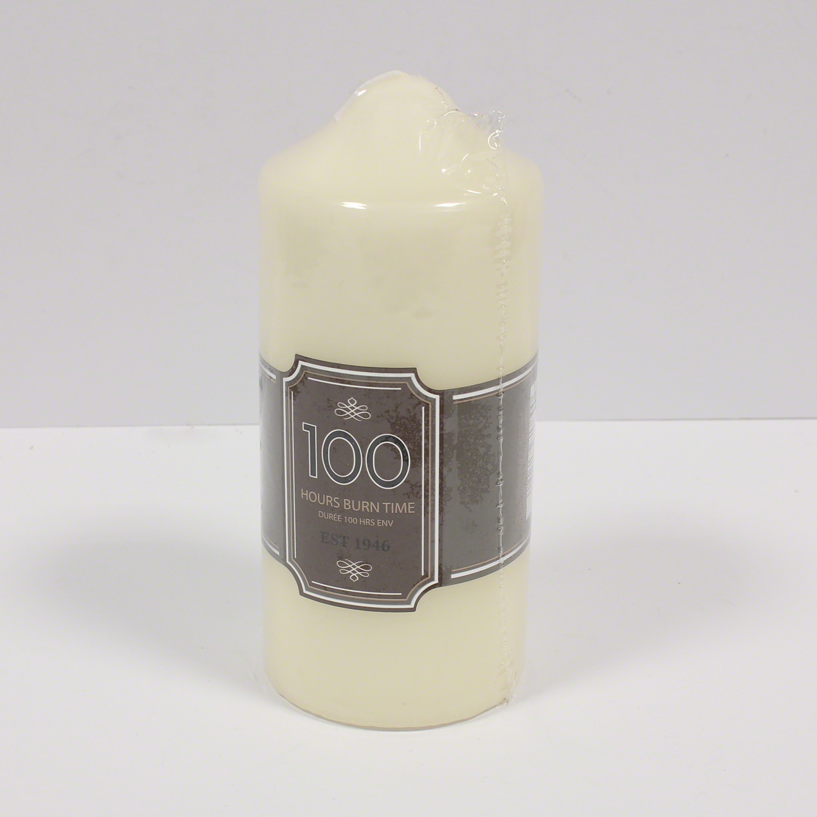 Click to view product details and reviews for Church Pillar Candle 100hr 15cm.