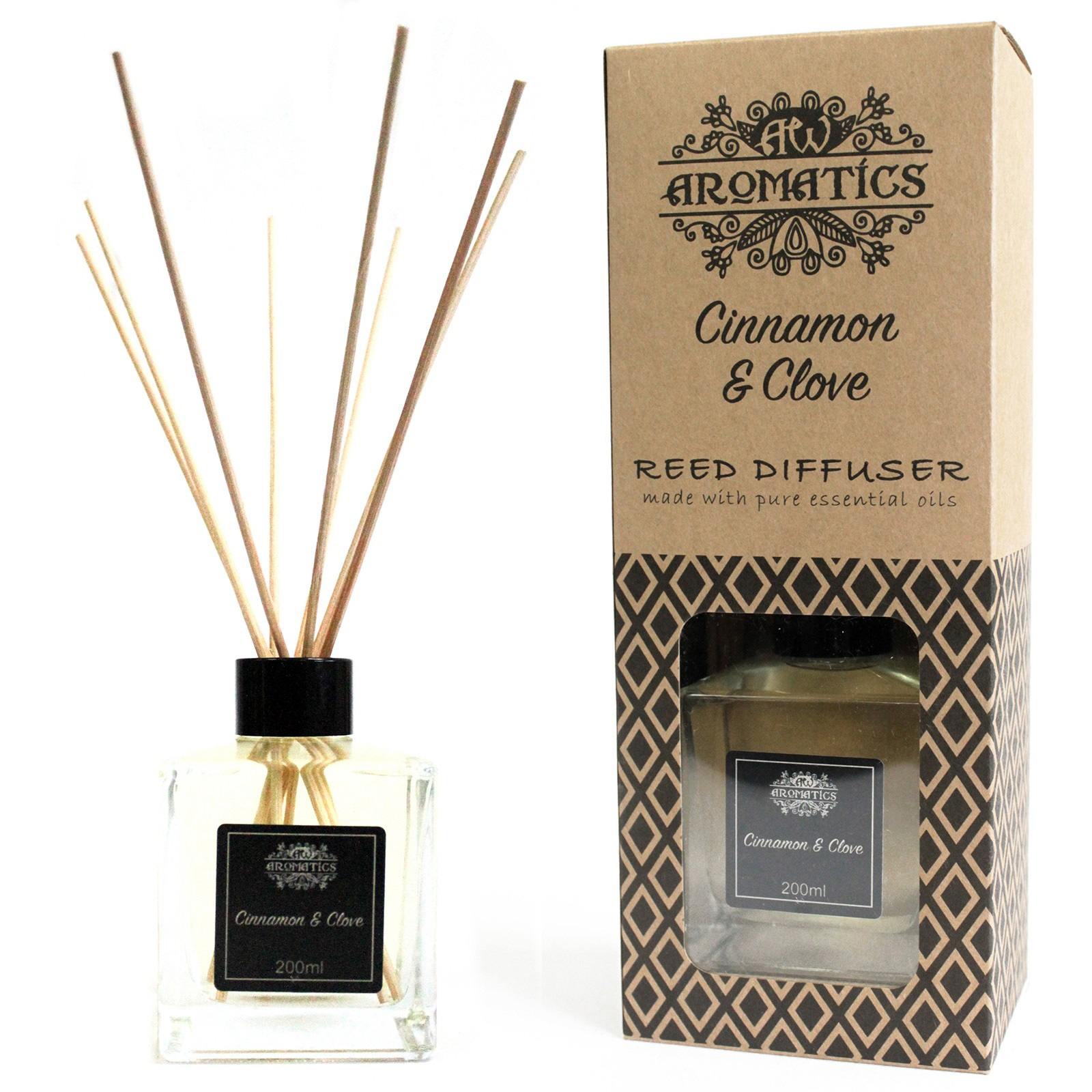Click to view product details and reviews for Cinnamon And Clove Reed Diffuser 200ml.