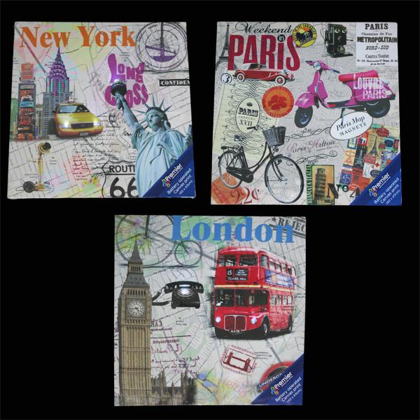 City Transport Led Canvas 3 Pack