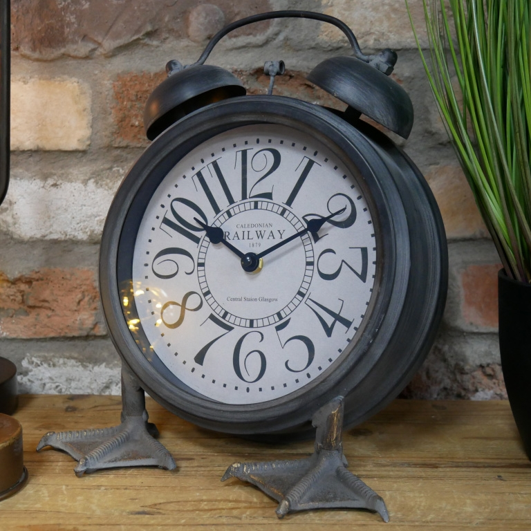 Click to view product details and reviews for Large Clock With Duck Feet.