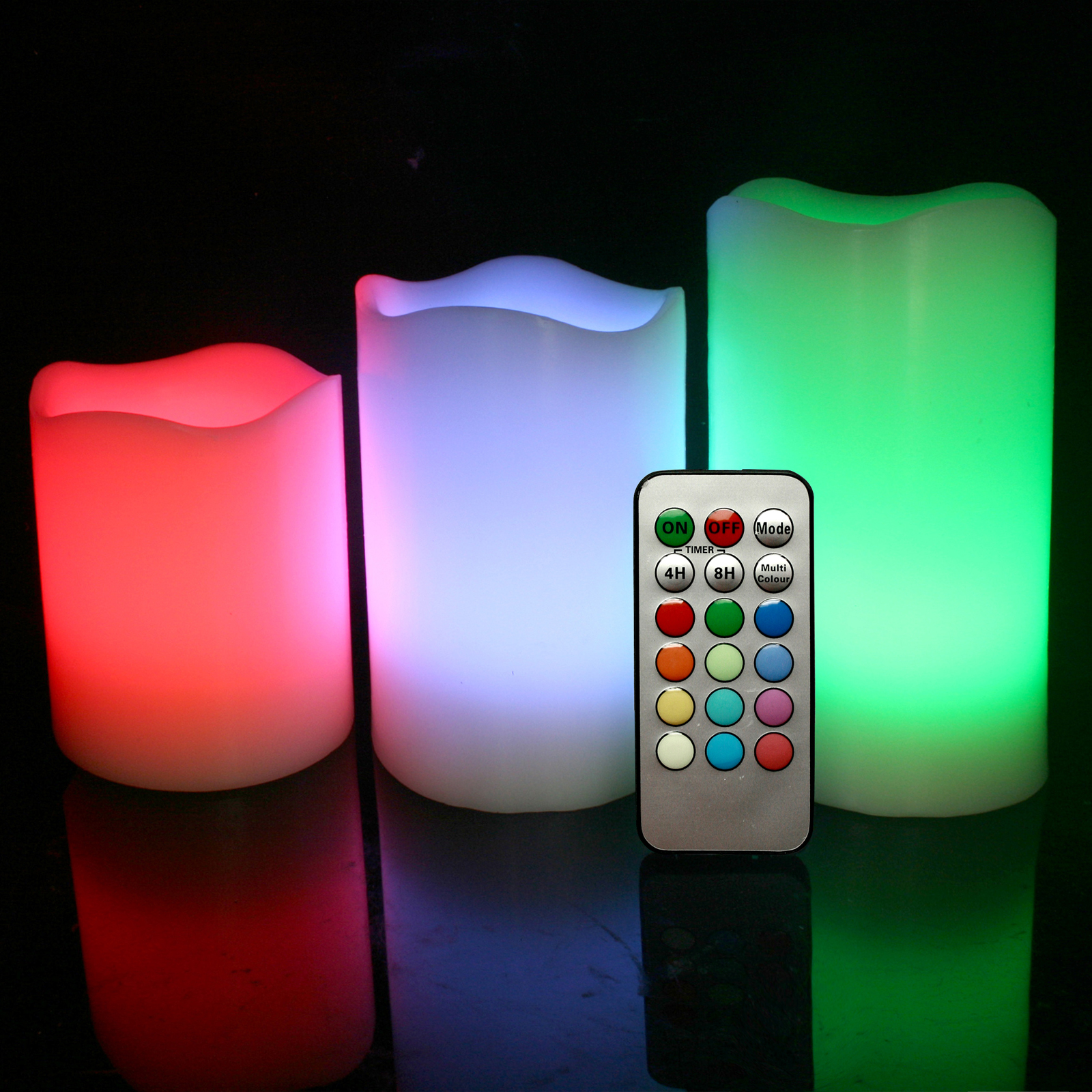 Colour Changing Flameless Led Candles