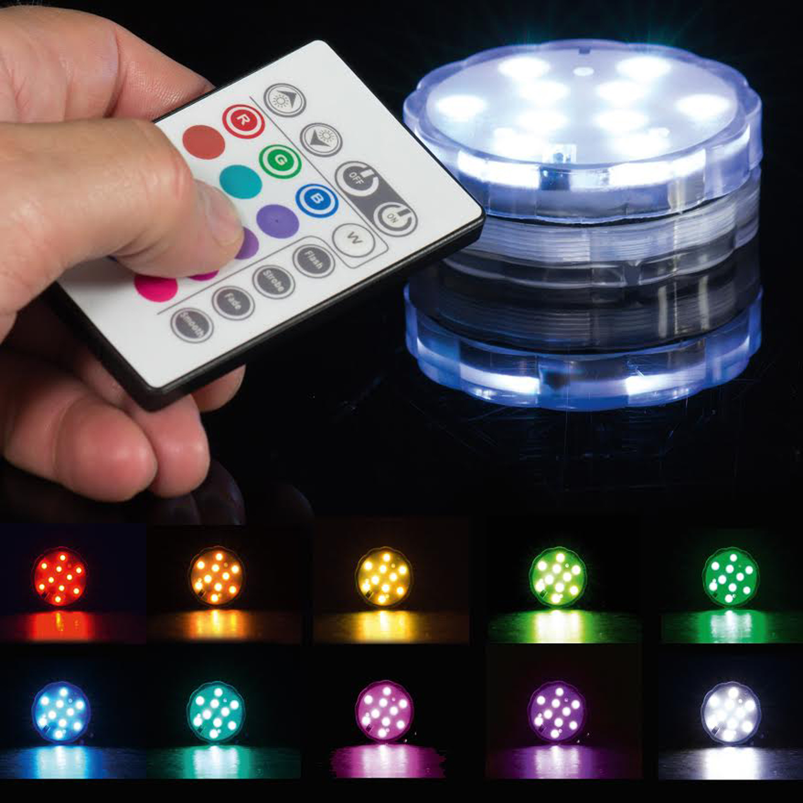 Click to view product details and reviews for Colour Changing Led Uplighter.