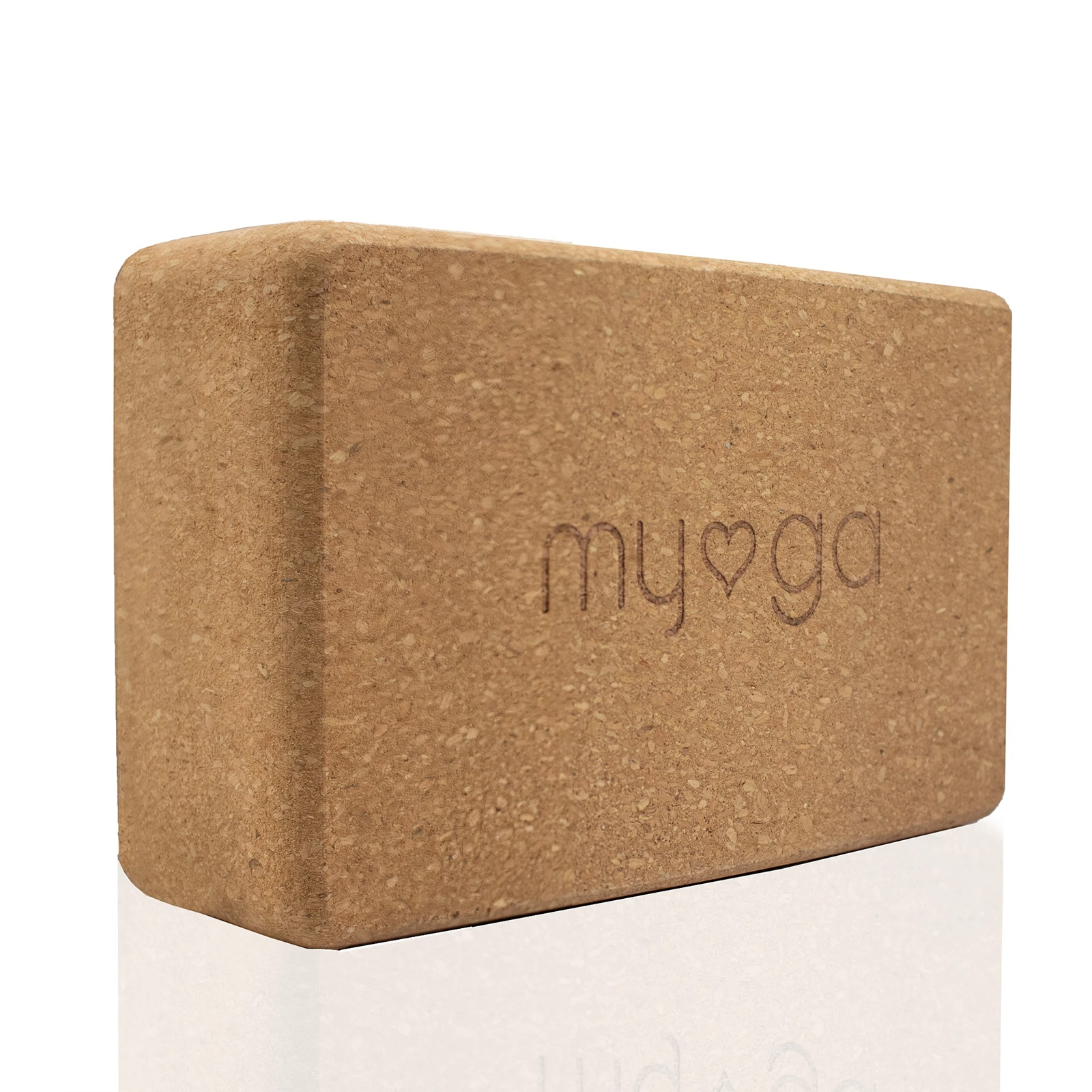 Click to view product details and reviews for Eco Cork Yoga Brick.