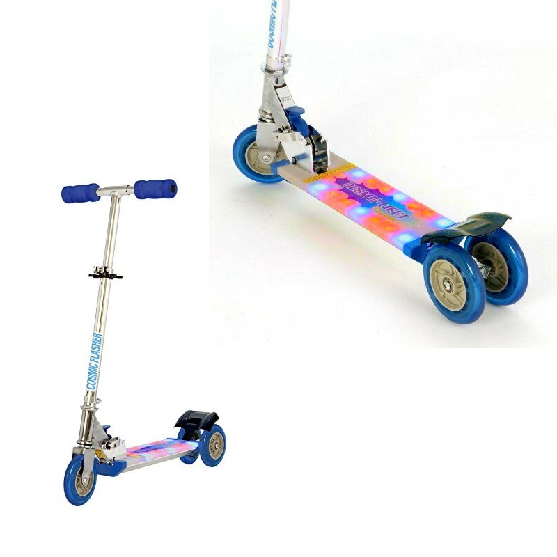 Click to view product details and reviews for Cosmic Light Step On Scooter.