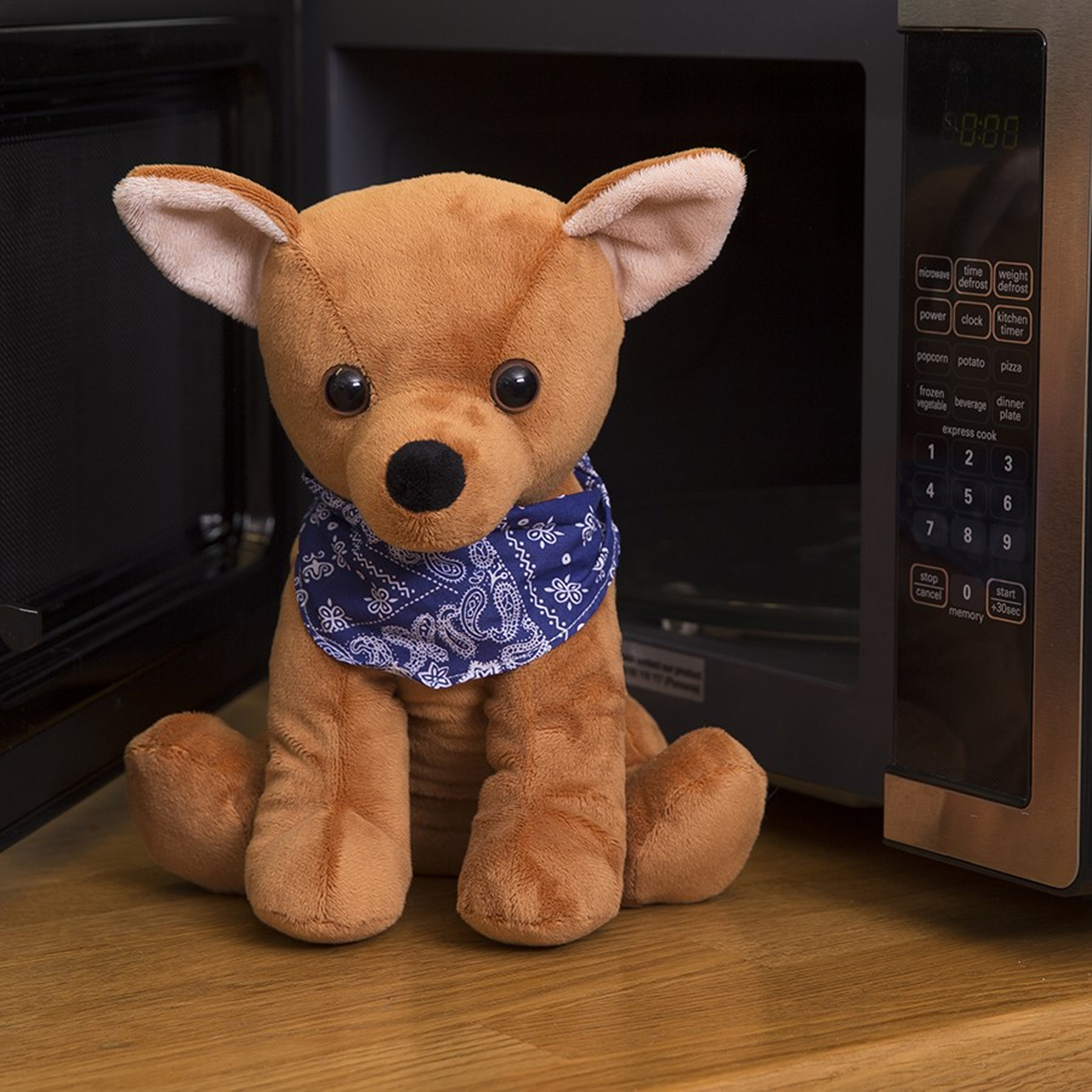 Click to view product details and reviews for Cozy Pet Chico Microwave Chihuahua.