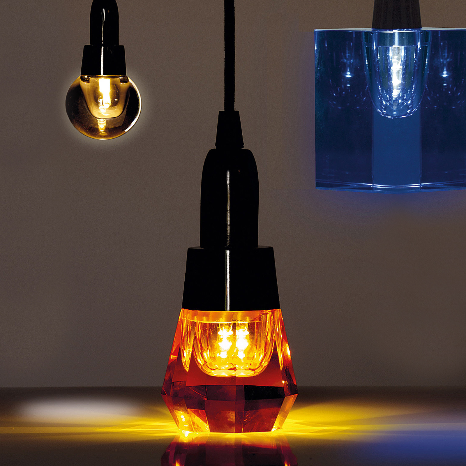 Click to view product details and reviews for Seletti Real Crystal Led Light Bulbs.