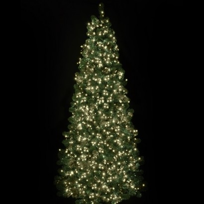 1500 Warm White LED Festive Tree Lights