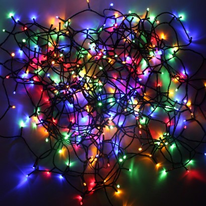 300 Dual Coloured Led Fairy Lights