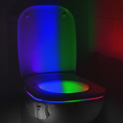 toilet lighting. Auraglow Motion Activated Toilet Light Lighting I