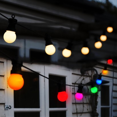 Classic cafe style festoon lights for indoor and outdoor use traditional cafe style festoon lighting read more mozeypictures Choice Image