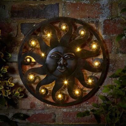 Celestial Sun Led Wall Art