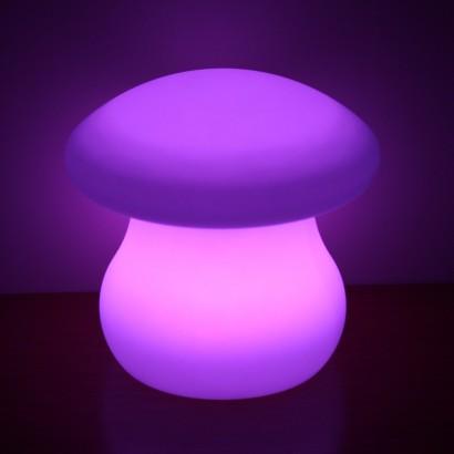 colour change mushroom mood lamp