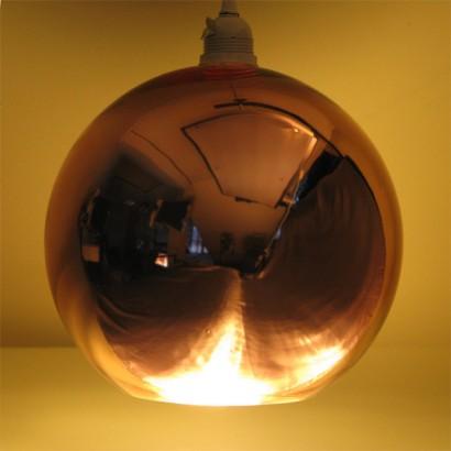Copper Globe Pendant (17963) & Copper Globe Pendant Light