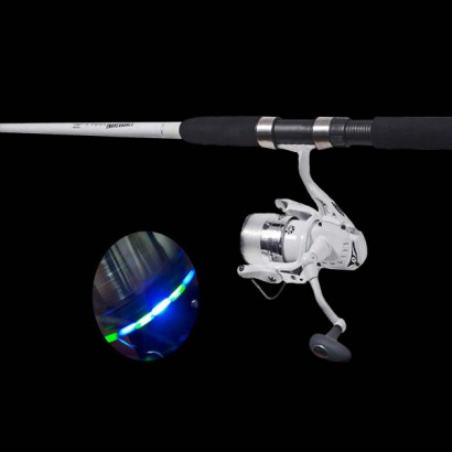 how to set up a spinning reel fishing rod