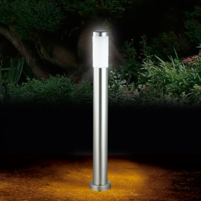 Sleek And Elegant Garden Posts, The Durham Solar Post Light Is 80cm Tall  And Constructed From Stainless Steel For A Contemporary Look.