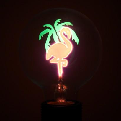 Flamingo Globe Filament Light Bulb