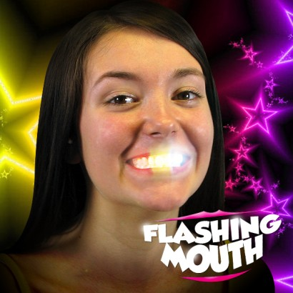 Flashing Mouth Light Up Your Teeth