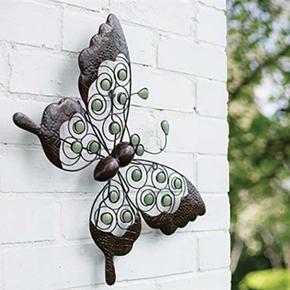 Glow Butterfly Wall Art & Glow in the Dark Butterfly Garden Wall Art