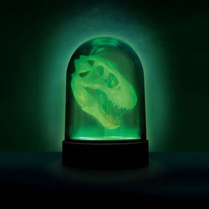 glow in the dark lighting. Glow In The Dark T-Rex Skull Light Glow Dark Lighting