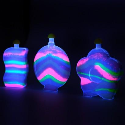 Glow In The Dark Sand Art Set