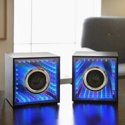 infinity tunnel speakers