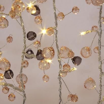 Mains Operated Coco Crystal Chic String Lights